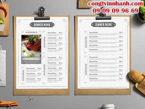 Cách thiết kế menu để tăng hiệu quả doanh thu