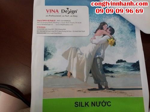 Công Ty In Nhanh chuyên nhận in tranh từ chất liệu silk, vải canvas,.. chất lượng cao, giá rẻ nhất cho khách hàng