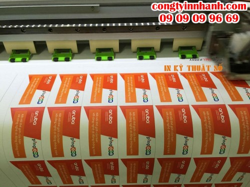 Máy in sử dụng đầu phun Senko Nhật Bản cho độ mịn in ấn Decal cao cấp, in cực đẹp