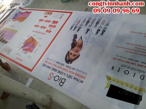 In Poster banner từ chất liệu PP chất lượng đẹp, hình ảnh có chiều sâu
